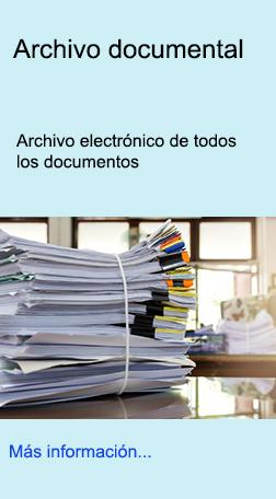 Control electrónico de todos los documentos