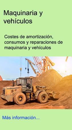 Amortización, consumos, reparaciones